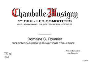 "Chambolle Musigny 1er Cru ""Combottes"""